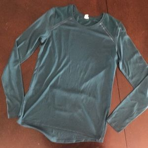 Real Champion long sleeved workout top